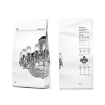 [Brand design] Coffee beans Package for Taegeukdang