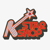 [Brand design] Logo for K Star Shop